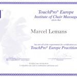 TouchPro Stoelmassage Diploma